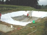 koupací rybník - motorest Nové Dvory