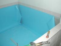 ochlazovací bazén u sauny