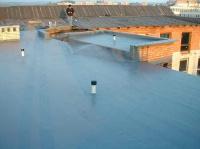 izolace střechy hotel Bílý lev