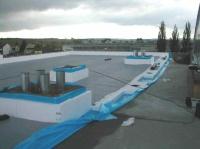 izolace střechy se zateplením
