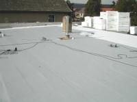 izolace střechy se zateplením - hospoda Martínkov