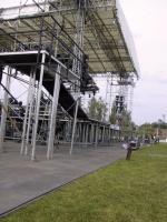 Ochrana trávníků a zpevnění ploch pro koncerty a veřejné akce