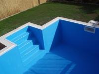 izolace bazénu - Třebíč 2009