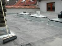 rekonstrukce asfaltové střechy fólií ALKORPLAN